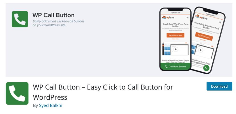 Comment ajouter un bouton d'appel sur wordpress