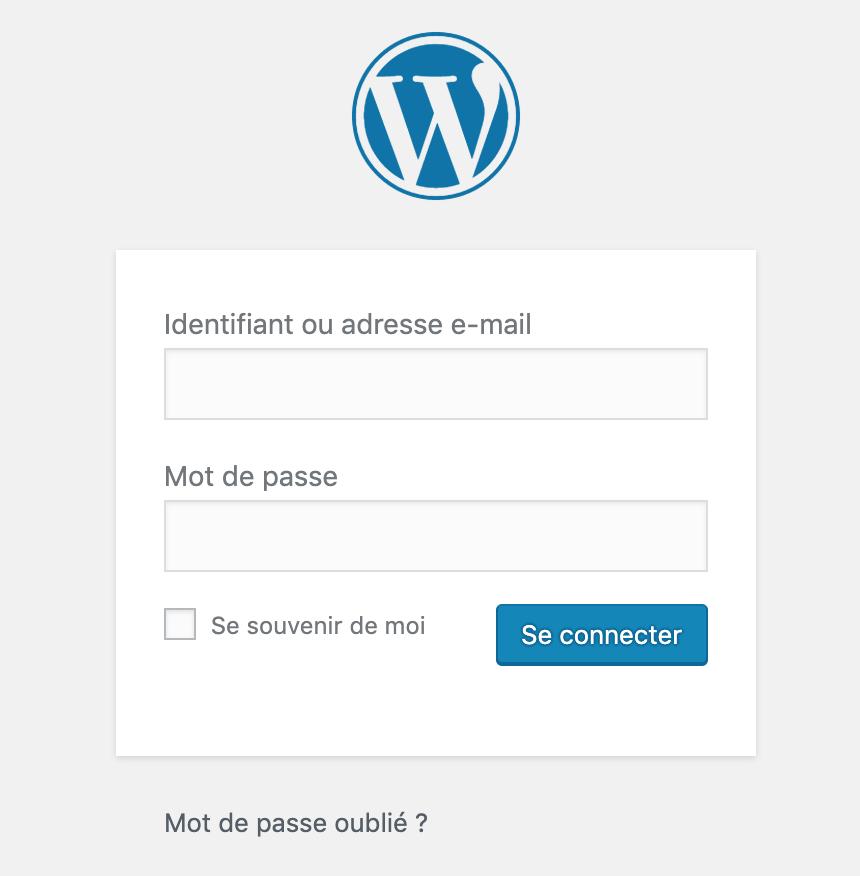 Récupérer un mot de passe perdu dans WordPress