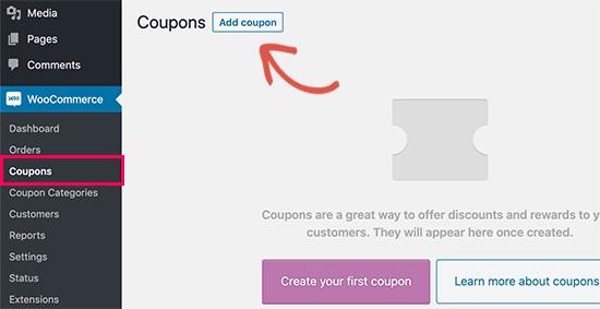 ajouter un code promo wordpress