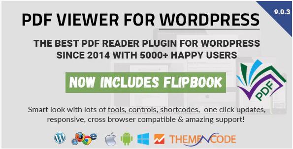 PDF Viewer pour WordPress